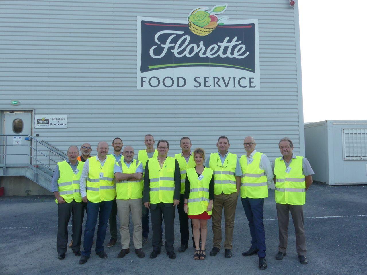 Florette Food Service reçoit le G16 industrie