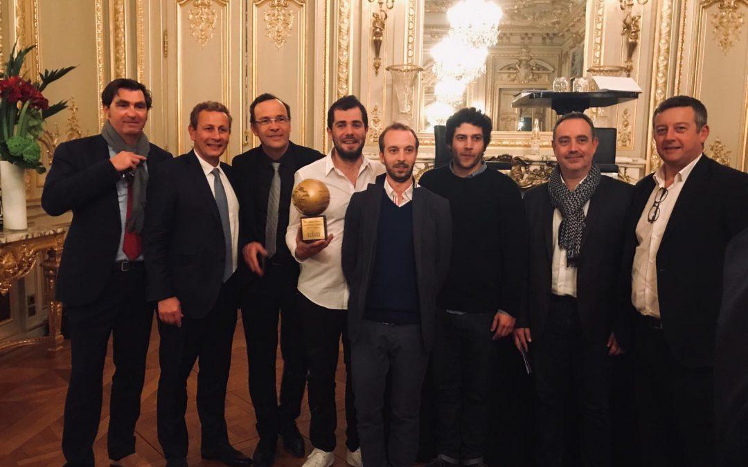 Remise du Prix Alfred Sauvy au Shangri-La à Paris le 19 février 2019